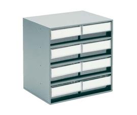 Storage Bin Cabinet - 8 Bins