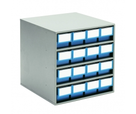 Storage Bin Cabinet - 400 Series - 16 Bins