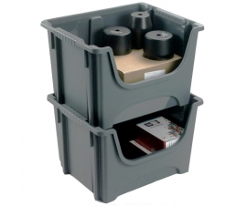 Plastic Space Bins Stacking 50 Litre