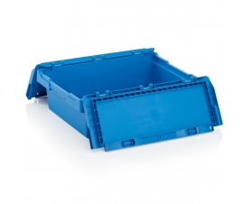 600mm x 400mm x 190mm Plastic Storage Box