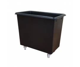 200 Litre Black Truck Container with Wheels