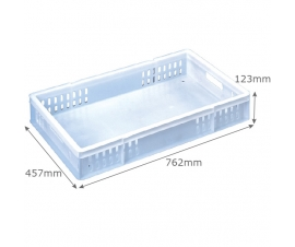 Confectionery Tray 32 Litre Vented-Sides