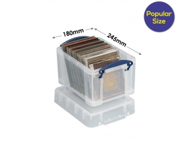 Ref: RUB3 Really Useful Boxes 3 Litre (245 x 180 x 160mm)