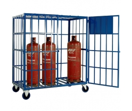 SC500 Cylinder Storage Cage - Mobile (8 x Propane)