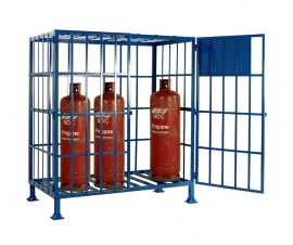 SC502 Cylinder Storage Cage - Static (8 x Propane)