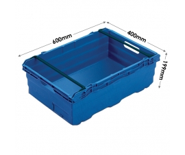 35 Litre Bale Arm Maxinest Container in Blue