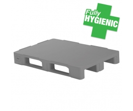 TC1 Hygienic Plastic Euro Pallets with 3 Runners