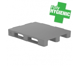 Hygienic Pallet with 3 Runners ISO GKN (1200 x 1000mm)
