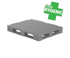 Hygienic Plastic Pallet - 1200 x 1000mm - TC3-5
