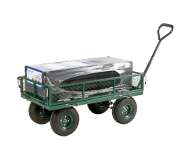 4 Sided Mesh Platform Turntable Truck