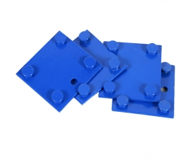 Tie Plates (Set of 4) for Rivet Racking