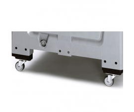 Castors for economy range pallet box