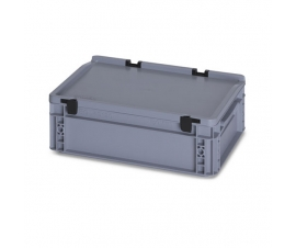 10 Litre Plastic Container with Lid (Euro/Stacking)