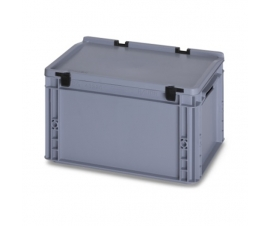 20 Litre Plastic Container with Lid (Euro/Stacking) ED43-22