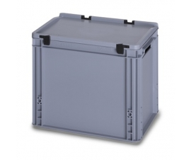 30 Litre Plastic Container with Lid (Euro/Stacking) ED43-32
