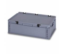 35 Litre Plastic Container with Lid (Euro/Stacking) ED64-17