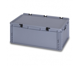 45 Litre Plastic Container with Lid (Euro/Stacking) ED64-22