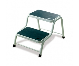 2 Step Stool with Anti Slip Tread