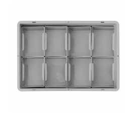 1/8th Euro Container Insert Dividers
