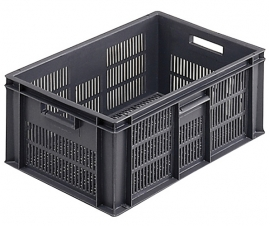 Euro Stacking Containers With and Without Lids