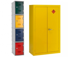 Lockers and Cabinets for the Workplace