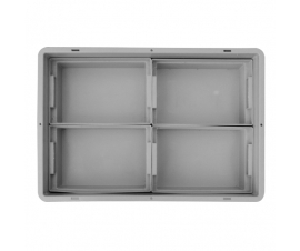 1/4 insert partition container for euro containers