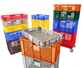 Ventilated Euro Stacking Containers Economy Range