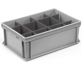 Plastic Container Divider Strips (Comb)