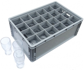 Glass and Bottle Dividers for Plastic Crates