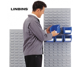 Linbin Louvre Panels Stands Trolleys and Kits