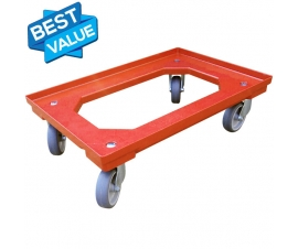 Dolly for Euro Stacking Containers and 80 Litre Crates
