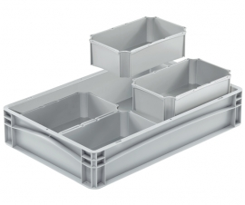 Plastic Euro Container Divider Insert Compartments
