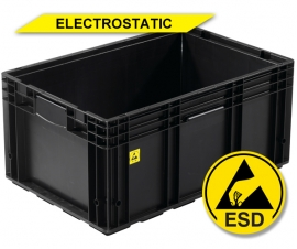 R-KLT-ESD-Electrostatic Dischcarge Automotive Containers