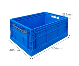 Foldable Plastic Box in Blue