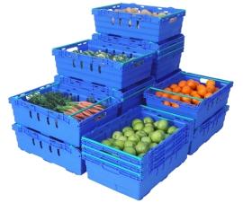 Maxinest Bale Arm Crates & Supermarket Crates