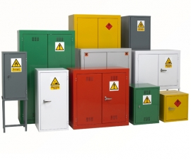 Hazardous Storage Cabinets and Cupboards