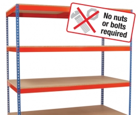 Heavy Duty Rivert Shelving Bay Boltless
