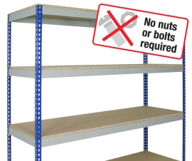 Medium Rivert Boltless Shelving Bay
