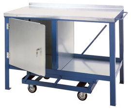 Mobile Workbenches with Wheels