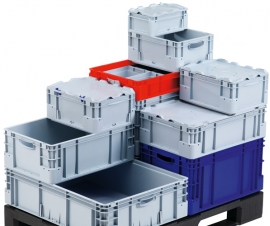 Silverline Euro Stacking Containers
