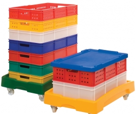 Stacking Food Grade Plastic Containers