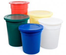 Tapered Moulded Food Grade Bins and Tubs
