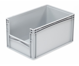Basicline Grey Range Open End Containers