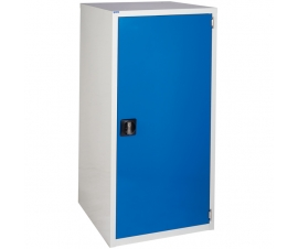 Euroslide cabinet with 1 cupboard in blue