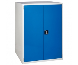 Euroslide cabinet with 1 cupboard in blue