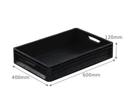 600 x 400 black lightline euro container