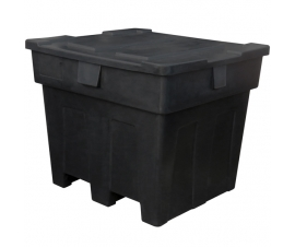 Big Box Recycled - Large Plastic Box with Drop On Lid