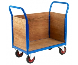 Platform truck with 3 ply sides