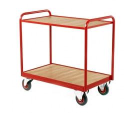 Industrial Tray Trolley in Red