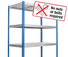 Kwikrack - Rapid to Build, Budget Racking and Shelving System